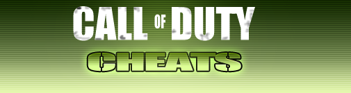 Cheats Call of Duty